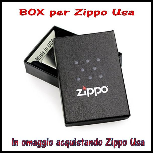 descrizione box-scatoletta per zippo originale