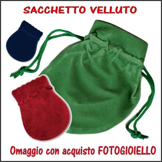 sacchetto velluto omaggio X FOTOGIOIELLO