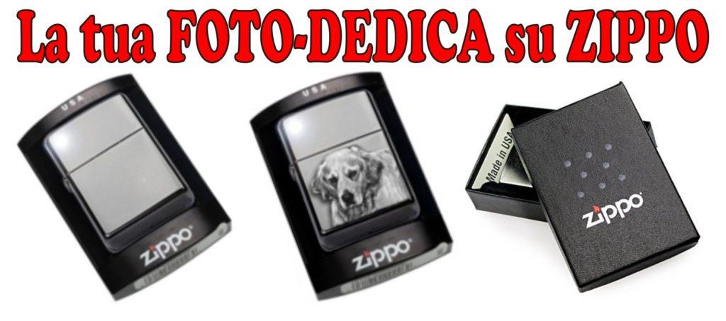 personalizza con foto/dedica zippo usa